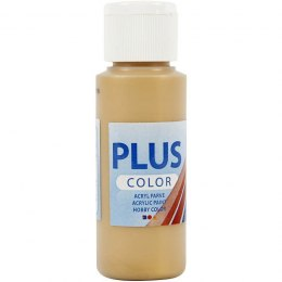 Farba PLUS Color 60 ml Metaliczna Złoto